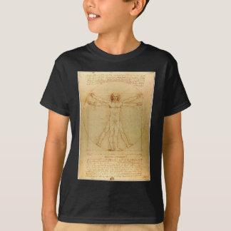 Da Vincis Vitruvian Mann T-Shirt
