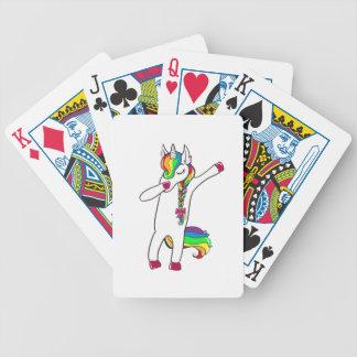 Dab Einhorn Bicycle Spielkarten