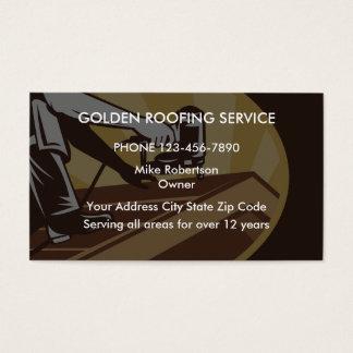 Dach-Auftragnehmer Visitenkarte