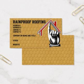 Dach schichtet Visitenkarte