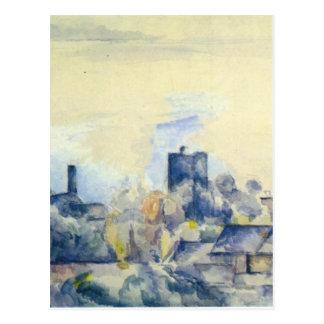 Dächer in L'Estaque durch Paul Cezanne Postkarte