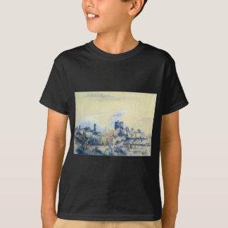 Dächer in L'Estaque durch Paul Cezanne T-Shirt