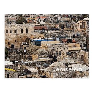 Dächer von Jerusalem Postkarte