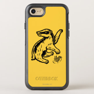 Dachs-Ikone Harry Potters | Hufflepuff OtterBox Symmetry iPhone 7 Hülle