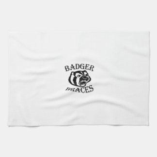 Dachs-Klammer-Geschirrtuch Handtuch