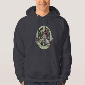 Dachshund-Jagdhund-FriedensT - Shirt