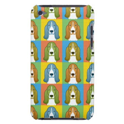 Dachshund-Jagdhund-HundeCartoon Pop-Kunst iPod Touch Hüllen