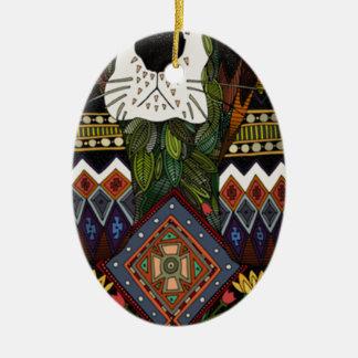 Dachshund-Jagdhund-Liebe Keramik Ornament