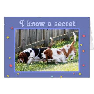 Dachshund-Jagdhund u. Geheimnis der Karte