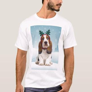 Dachshund-Jagdhund-WeihnachtsT - Shirt