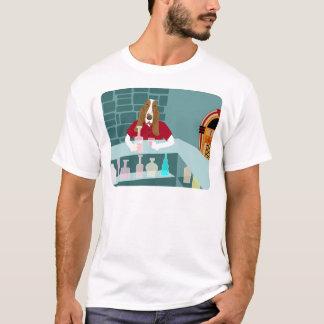 Dachshund-Jagdhund-Whisky-Bar T-Shirt