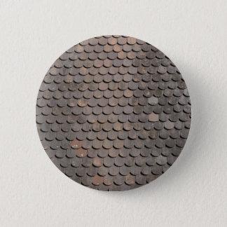Dachziegel Fischmuster Runder Button 5,1 Cm