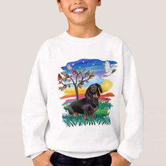 Dackel (BT) - Sun-Glühen Sweatshirt