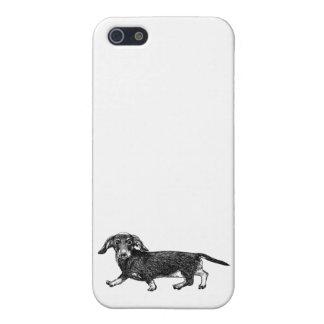 Dackel des Hundetelefon-Kasten-5/5s iPhone 5 Cover