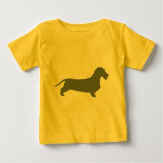 Dackel-Drahthaar Baby T-shirt