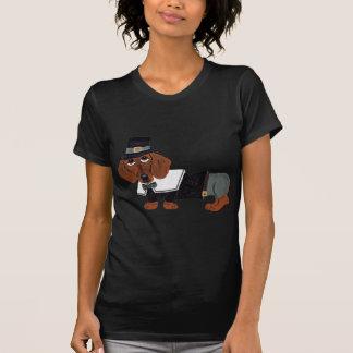Dackel-Erntedank-Pilger T-Shirt