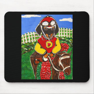 DACKEL-JOCKEY MOUSEPAD