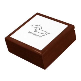 Dackel-Liebe Geschenkbox