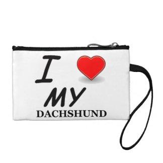 Dackel-Liebe Münzbörse