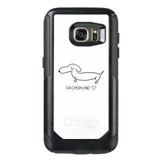 Dackel-Liebe OtterBox Samsung Galaxy S7 Hülle
