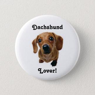 Dackel-Liebhaber! Runder Button 5,1 Cm