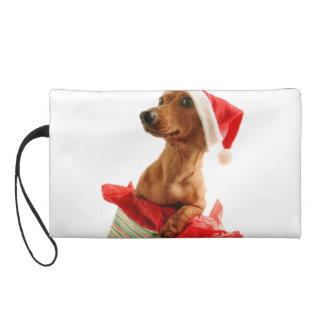 Dackel Sankt - Sankt-Hund - verfolgen Geschenke Wristlet