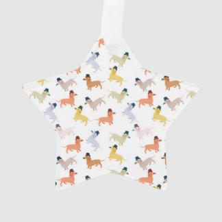 Dackel-Verzierung Ornament