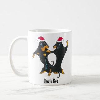 Dackel-WeihnachtsTasse Kaffeetasse