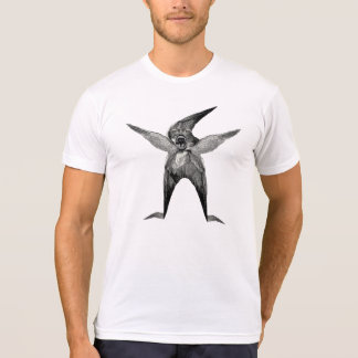 Dada inspirierte schrulliges Wingmant-shirt T Shirt
