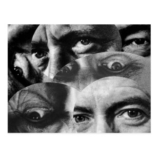 Dadaism-Vintage Postkarte