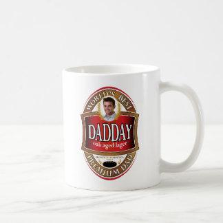 Dadday Bier-Aufkleber-Tasse - A