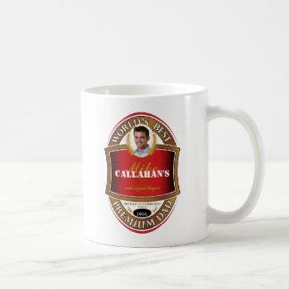 Dadday Bier-Aufkleber-Tasse - B Tasse