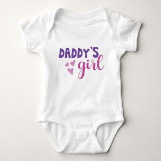 Daddys Mädchen-Baby-Ausstattung Baby Strampler