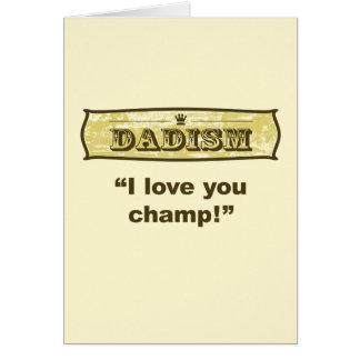 Dadism - i-Liebe, die Sie kauen! Karte