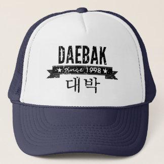 Daebak ist für fantastisches koreanisch (im truckerkappe