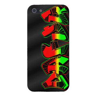 Dafuq Rasta Graffiti iPhone 5 Fall. Fall Savvy. iPhone 5 Case