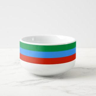 Dagestan-Flagge Große Suppentasse