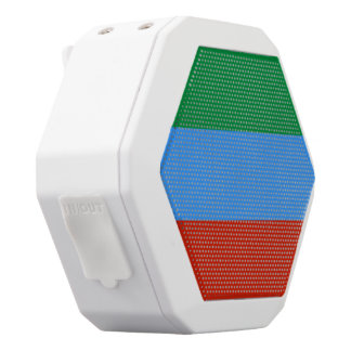 Dagestan-Flagge Weiße Bluetooth Lautsprecher