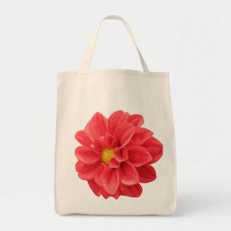 Dahlie-Blumen-grafische Tragetasche