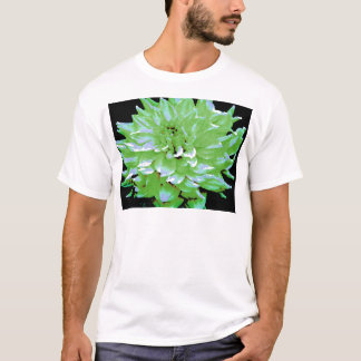 Dahlie - Flitterwochen - Erdton - Grün - T-Shirt