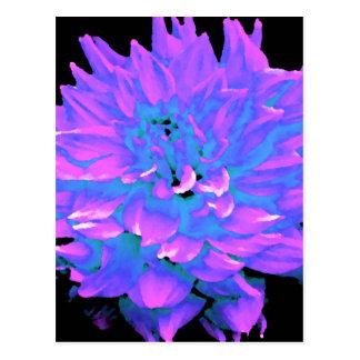 Dahlie - Flitterwochen - leuchtender Obstgarten Postkarte