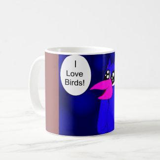 Daisuke Liebe-Vögel Kaffeetasse