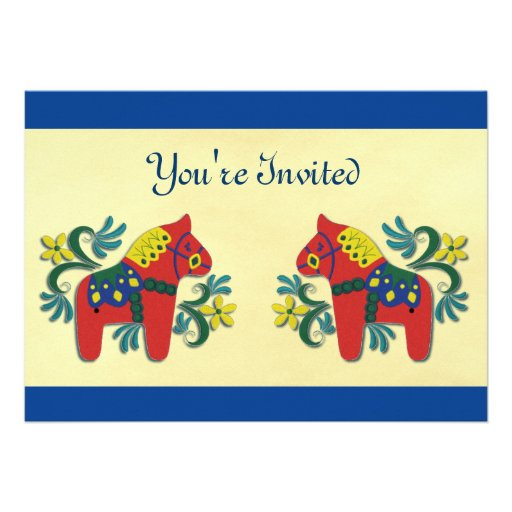 Dala PferdeParty Einladung