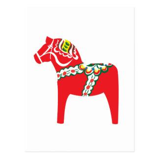 Dalahäst | Dala Pferd Postkarte