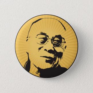Dalai Lama-Knopf Runder Button 5,7 Cm