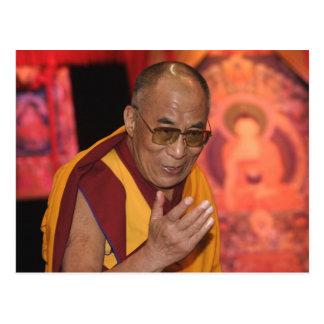 Dalai- LamaFoto/der Dalai Lama Tibet 3 Postkarte