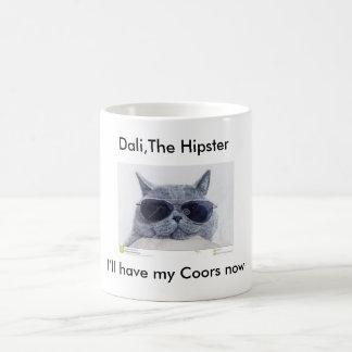 Dali, die Hipster-Tasse Tasse