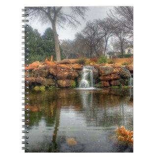 Dallas-Arboretum und botanischer Garten Notizblock