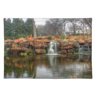 Dallas-Arboretum und botanischer Garten Stofftischset