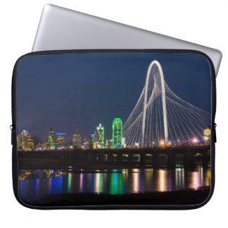 Dallas-Brücken-Ansicht Laptopschutzhülle